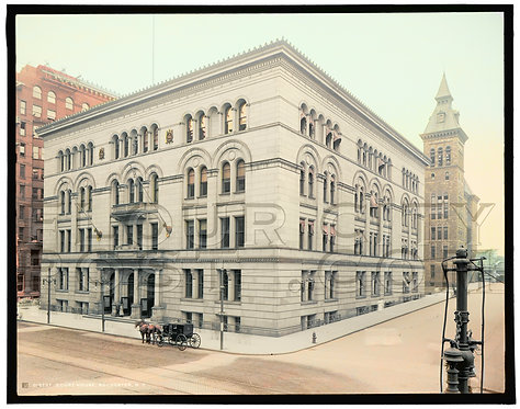 County House, Rochester, N.Y (COLORIZED)