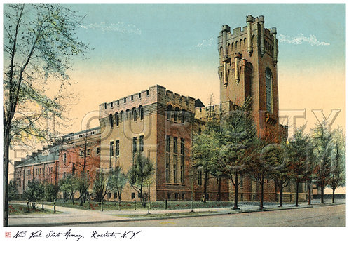 The New York State Armory, Rochester, N.Y.