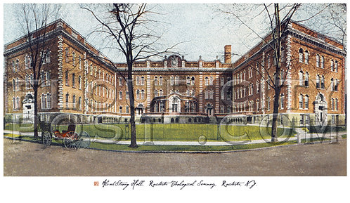 Alvah Strong Hall, Rochester Theological Seminary, Rochester, N.Y.