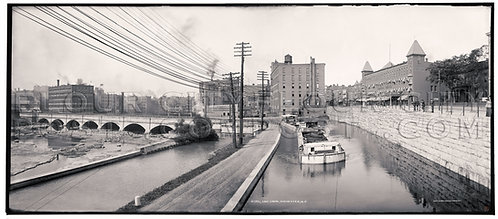 The Erie Canal, Rochester, N.Y.