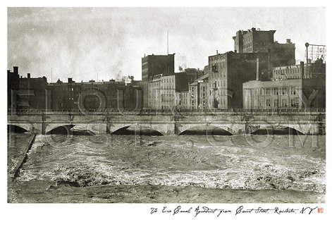 The Erie Canal Aqueduct from Court Street, Rochester, N.Y.