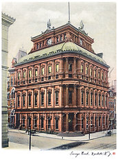 Savings Bank, Rochester, N.Y. (COLORIZED)