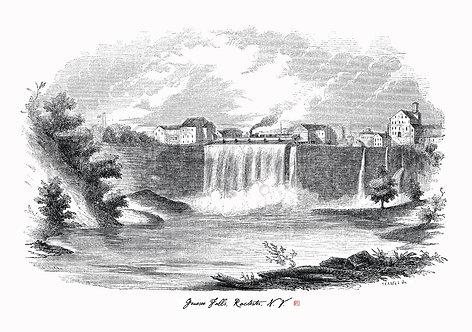 Genesee (High) Falls, Rochester, N.Y.