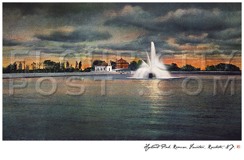 Highland Park Reservoir, Fountain, Rochester, N.Y.