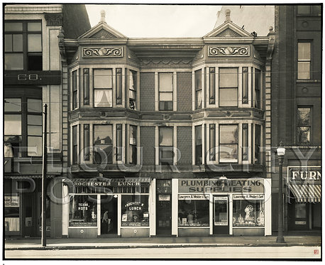 Businesses Along Court Street, Rochester, N. Y.