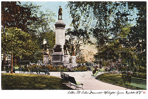 Soldiers' and Sailors' Monument, Washington Square, Rochester, N.Y.