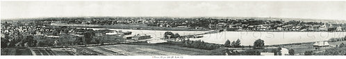 Panoramic view from Cobb's Hill, Rochester, N. Y.