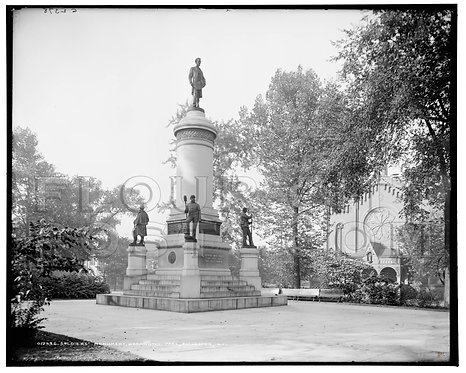 Soldiers' Monument, Washington (Square) Park, Rochester, N.Y.