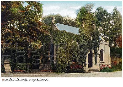 Chapel in Mount Hope Cemetery, Rochester, N.Y.