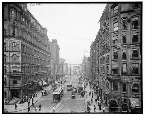 State Street (looking North), Rochester, N.Y