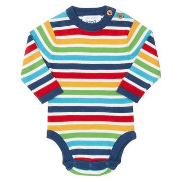 Kite Bright Stripe Knit bodysuit