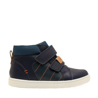 Startrite Discover Navy leather boot