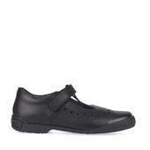 Startrite Leapfrog Black shoe