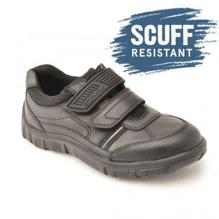Start-rite Luke Scuff Resistant Bumper Toe School Shoes