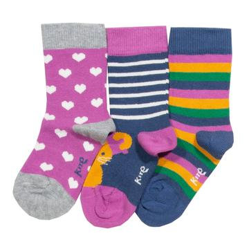 Kite Mouse 3 pack Socks
