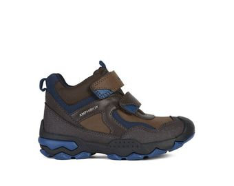 Geox Buller waterproof boot Brown/Avio