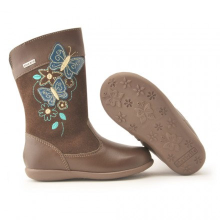 Start Rite Aqua Flutter Brown Leather Suade Waterproof Boot