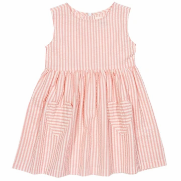 Kite Pink Stripe Heart Dress