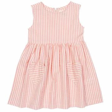 Kite Pink Stripe Heart Dress