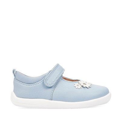 Startrite Fairy Tale Pale Blue Leather