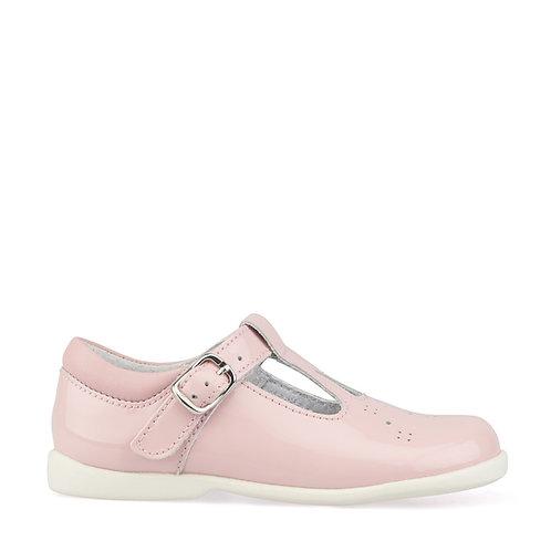 Start-Rite Swirl Pink Patent T-Bar Shoe