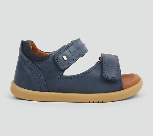 Bobux Driftwood Navy Rip Tape Sandals Classic