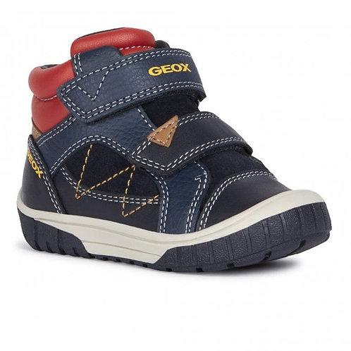 Geox omar Navy/Red sneaker