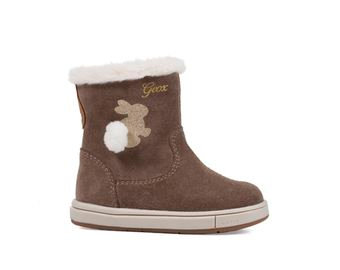 Geox Trottola Girls boot Smoke grey