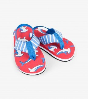 Hatley Loop the Loopings Hammerheads flip flops