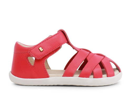 Bobux Step-Up Tropicana closed toe sandal Watermelon