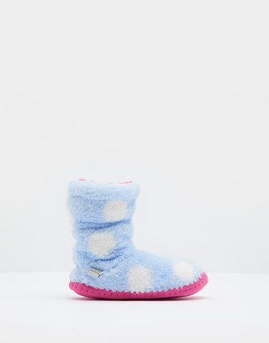 Joules Padabout slipper spotty