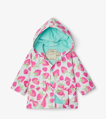 Hatley Delicious berries baby raincoat