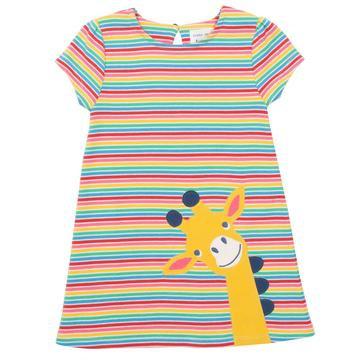 Kite Giraffe stripe dress
