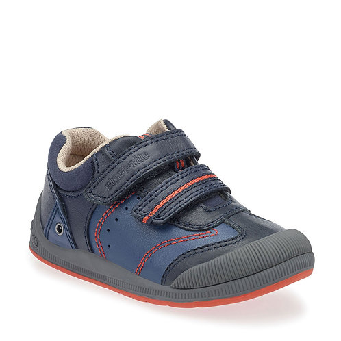 Start-rite Tough Bug Navy First Walking Shoe