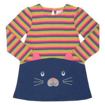 Kite Cute Cat stripe dress