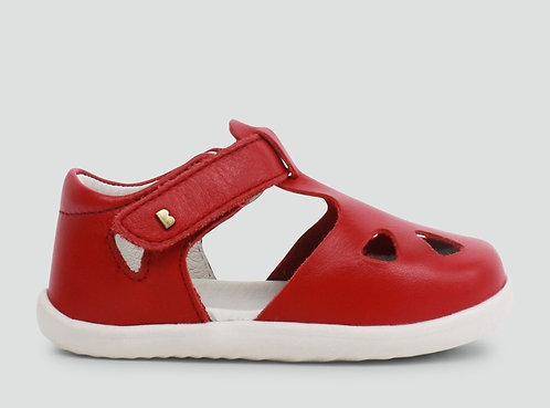 Bobux Zap Step-Up Rio Red Enclosed Sandal