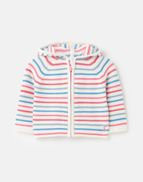 Joules Cardigan Conway pink stripe