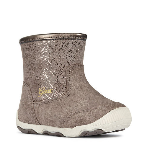 Geox Balu Smoke Grey Short Boot