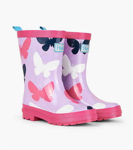 Hatley Silhouette Butterfly Wellies