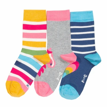 Kite 3 pack Pony socks
