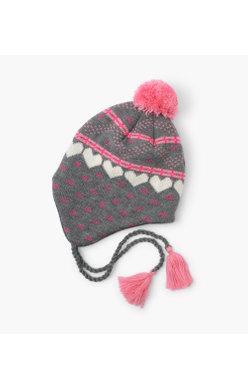 Hatley Winter Hearts Hat