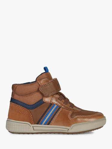 Geox Poseido hightop Cognac/Navy