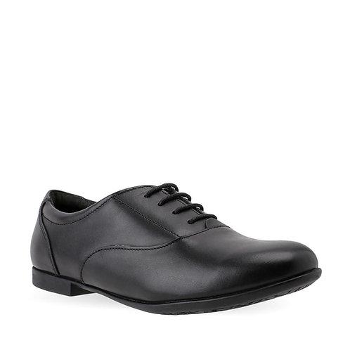 Startrite Talent black leather school shoe