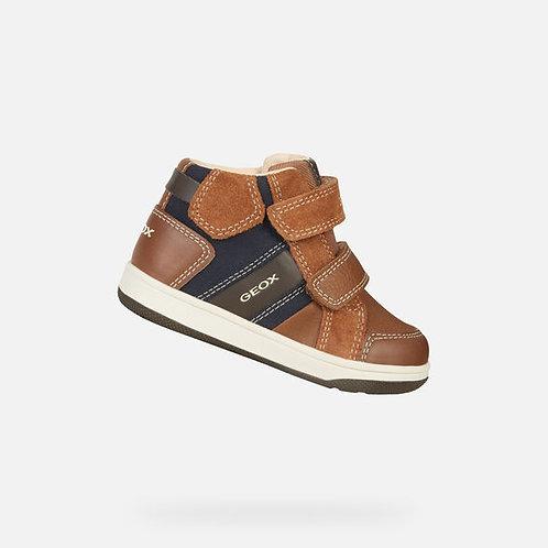 Geox Flick Brown/Navy sneakers