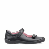 Startrite Giggle black school shoe