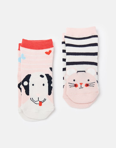 Joules Dog/Mouse Baby Socks