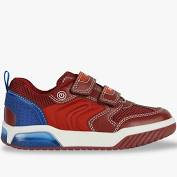Geox trainer red Inek light up sole