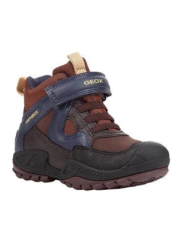 Geox Savage Brown/Navy Waterproof ABX Ankle Boot