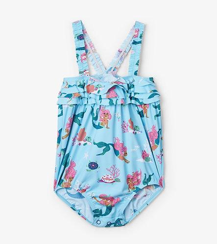 Hatley Mermaid Tales baby Ruffles swimwear