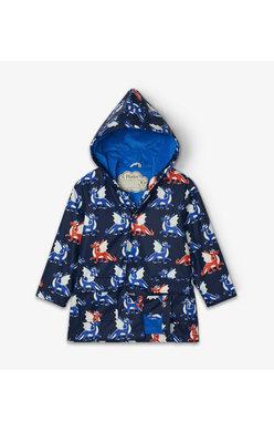 Hatley Dragon colour changing raincoat